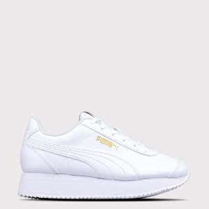 Tênis Puma Turino Stacked - White