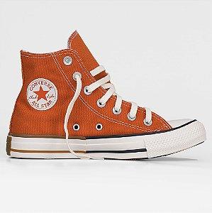 Tênis Converse All Star Chuck Taylor Hi - Vermelho Ferrugem/Preto
