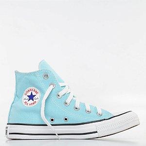 Tênis Converse All Star Chuck Taylor Hi - Azul Bebê