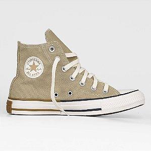 Tênis Converse All Star Chuck Taylor Hi - Caqui