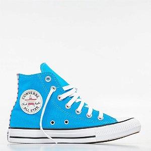 Tênis Converse All Star Chuck Taylor Hi - Azul Náutico