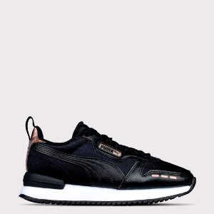 Tenis Puma R78 WNS Metallic - Black/Rose Gold