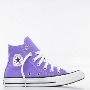 Tênis Converse All Star Chuck Taylor Hi - Lilás