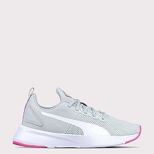 Tênis Puma Flyer Runner - Gray/Violet