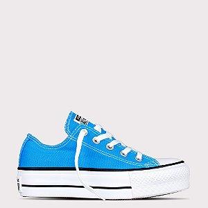 Tênis Converse All Star Chuck Taylor Lift - Azul Náutico