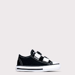 Tênis Converse All Star Border Kids Ox - Preto
