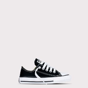 Tênis Converse All Star Ox Kids - Preto Cru