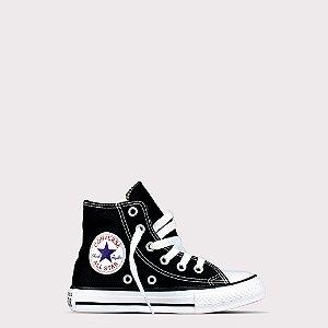 Tênis Converse All Star Hi Kids - Preto Cru