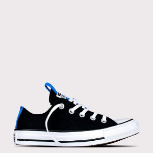 Tênis Converse All Star Chuck Taylor Ox - Preto/Azul Digital