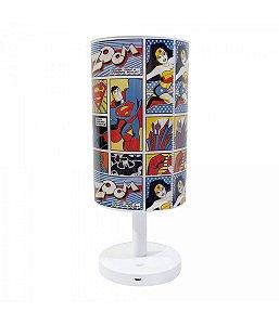Luminária DC Comics Liga da Justiça