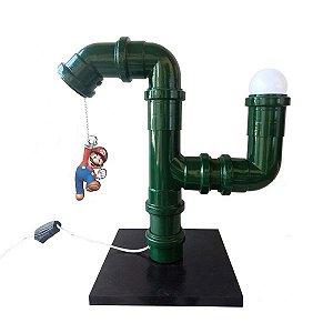 Luminária PVC - Super Mario Bros