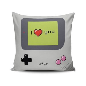 Capa de Almofada I love you Game