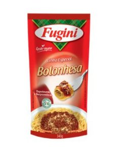 Molho Bolonhesa Vegano 340g - Fugini