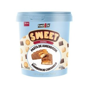Pasta de Amendoim Sweet 500g - Power One