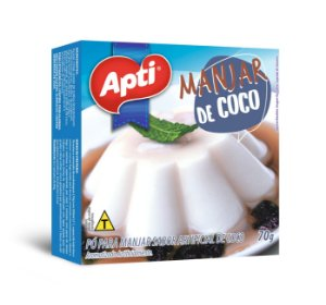 Manjar de Coco em Pó 70g - Apti