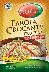 Farofa Proteica Tempero Caseiro 300g - Sora