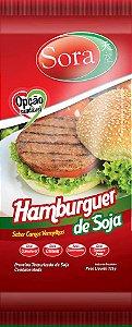 Hamburguer de Soja Sabor Carne Vermelha 110g - Sora