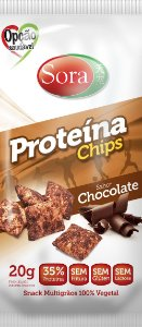 Proteína Chips Chocolate 20g - Sora