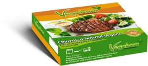 Churrasco Natural Vegano 400g - Vegabom