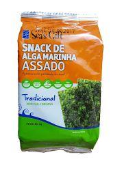 Snack de Alga Sabor Tradicional 5g - Sea's Gift