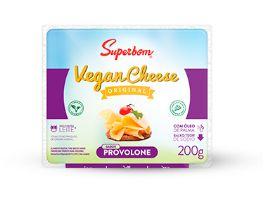 Queijo Vegano Provolone 200g - Superbom