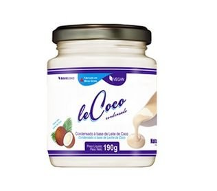 Leite Condensado de Coco 190g - Natural Science