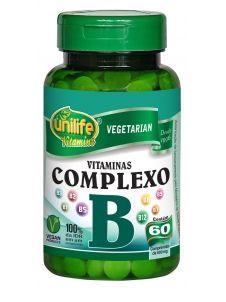 Complexo B 500mg 60 Cápsulas - Unilife