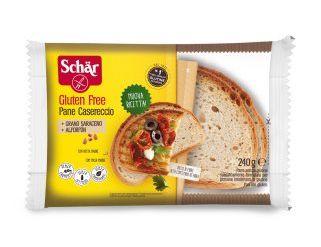 Pão Caseiro Sem Glúten 240g - Schar