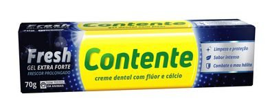 Gel Dental Fresh Extra Forte 70g - Contente