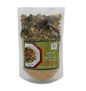 Arroz Integral Brócolis e Funghi 235g - Tui Alimentos
