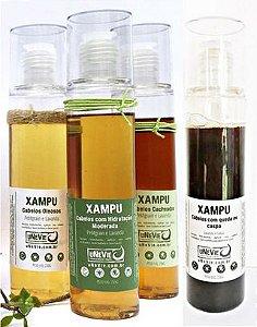 Shampoo Para Cabelos Oleosos 230g - Unevie