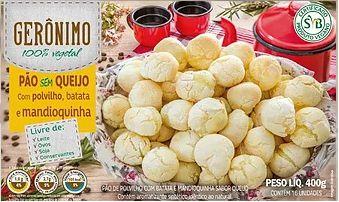 Pão Sem Queijo c/ Batata e Mandioquinha 400g - Gerônimo