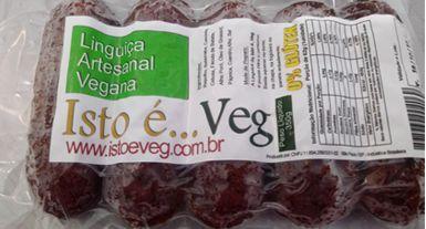 Linguiça de Vegetais 350g - Isto é Veg