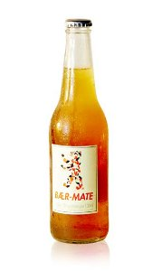 Chá Mate Gaseificado 355ml - Baer-Mate