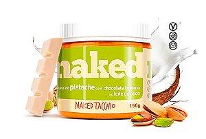 Pasta de Pistache c/ Chocolate Branco ao Leite de Coco 150g - Naked Nuts