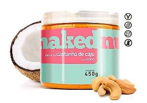 Pasta de Castanha de Caju c/ Côco 150g - Naked Nuts