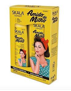 Kit Shampoo + Condicionador Amido de Milho - Skala