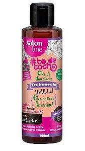 Óleo de Umectação Côco Puríssimo 100ml - Salon Line