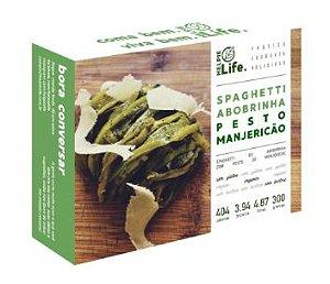 Spaghetti de Abobrinha c/ Pesto de Manjericão 300g - Helpie