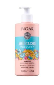 Shampoo Meu Cacho, Meu Crush 400ml - Inoar