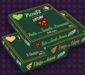 Pizza Fit Vegana 160g - Super Salutem