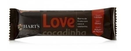 Barrinha de Frutas Love Cocadinha 35g - Hart's