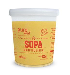 Sopa Vegana 400g - Pure Food