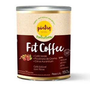 Café Emagrecedor Fit Coffee 150g - Piatan
