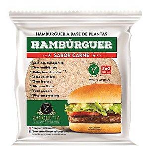 Hamburguer Sabor Carne 56g - Zanquetta