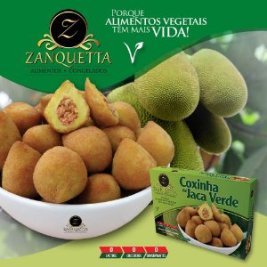 Coxinha de Jaca Verde 500g - Zanquetta
