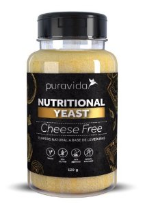 Nutritional Yeast Cheese Free 120g - Puravida