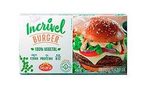 Incrível Burger Sabor Carne 452g - Seara