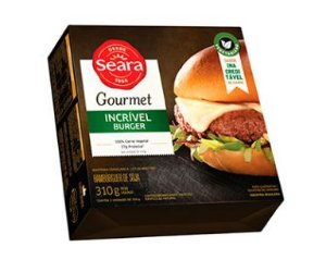 Incrível Burger Gourmet 310g - Seara