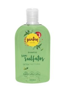Shampoo Natural Detox 300ml - Piatan